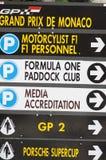 Grand Prix of Monaco, 2011 Royalty Free Stock Images