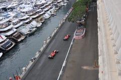 Grand Prix Monaco 2012 - Ferrari team Royalty Free Stock Photo