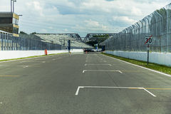 On the Grand Prix of Montreal Track. On the Grand Prix Track in Montreal, Canada Royalty Free Stock Images