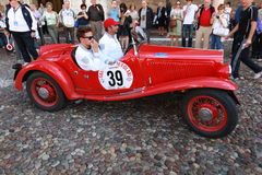 Grand Prix Nuvolari 2010 Royalty Free Stock Images