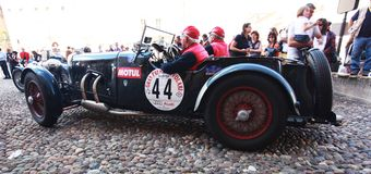 Grand Prix Nuvolari 2010 Royalty Free Stock Image
