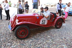Grand Prix Nuvolari 2010 Stock Photography