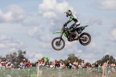 Grand Prix Russia FIM Motocross World Championship Royalty Free Stock Image