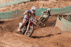 Grand Prix Russia FIM Motocross World Championship Royalty Free Stock Photos