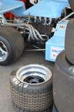 Grand prixracerbil på den Goodwood festivalen av hastighet Royaltyfria Bilder