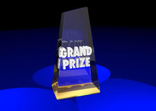 Grand Prize Award Winner Top First Place Royalty Free Stock Photo