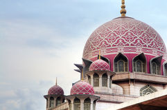 Grand Putrajaya Mosque Stock Images