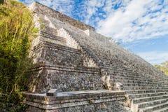 Grand Pyramid at the ruins of the ancient Mayan city Uxmal, Mexi. Co royalty free stock photography