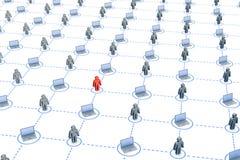 Grand réseau illustration libre de droits
