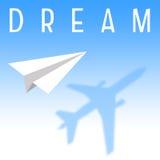Grand rêveur Photo libre de droits