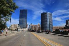 Grand Rapids, Μίτσιγκαν κεντρικός Στοκ εικόνα με δικαίωμα ελεύθερης χρήσης