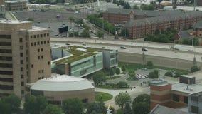 Grand Rapids Aerial stock footage