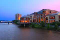 Grand Rapids arkitektur Royaltyfria Foton