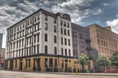 Grand Rapids che fa società fotografia stock