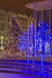 Grand Rapids Christmas Tree 2013 Royalty Free Stock Photos