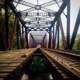 Grand Rapids järnväg royaltyfri fotografi