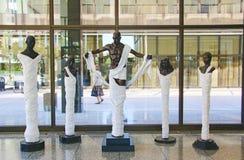 2014 Grand Rapids Michigan Art Prize Stock Foto's