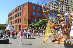 2014 Grand Rapids Michigan Art Prize Royalty-vrije Stock Fotografie