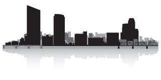Free Grand Rapids Michigan City Skyline Silhouette Stock Image - 113862141