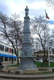 Grand Rapids, Michigan - het Monument van Burgeroorlogmilitairen royalty-vrije stock foto's