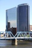Grand Rapids skyskrapor Arkivfoto