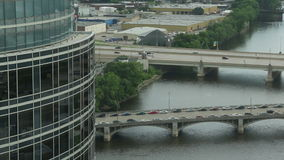 Grand Rapids Tower Time Lapse stock video