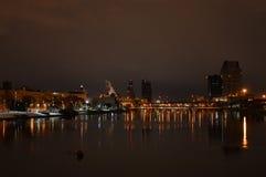 Grand Rapids van de binnenstad stock afbeelding