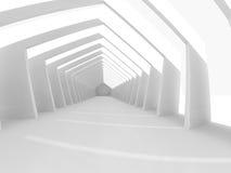 Grand rendu léger vide du hall 3D Photo libre de droits