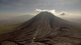 Grand Rift Valley où le continent détache l'itelf et est rené images libres de droits
