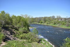 Grand River Paris Ontario Stock Photography