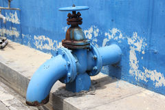 Grand robinet d'eau Images libres de droits
