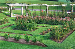 Grand Rose Garden Royalty Free Stock Photo