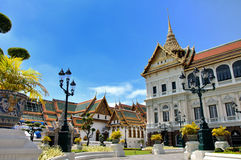 Grand royal palace Royalty Free Stock Photo