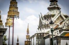 Grand Royal Palace in Bangkok. Decorations of Grand Royal Palace in Bangkok, Thailand Royalty Free Stock Photography