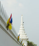 The grand royal palace and Temple of the Emerald Buddha in Bangkok Royalty Free Stock Image