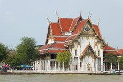 The grand royal palace and Temple of the Emerald Buddha in Bangkok Royalty Free Stock Images