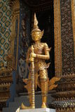 The grand royal palace and Temple of the Emerald Buddha in Bangkok Stock Images