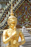 The grand royal palace and Temple of the Emerald Buddha in Bangkok Stock Photos