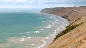 Grand Sable Dunes Loop stock video