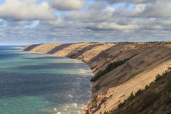 Grand Sable Dunes. In Pictured Rocks National Lakeshore on Lake Superior, Michigan, USA Stock Photos