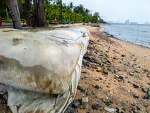 Grand sac côtier photographie stock libre de droits