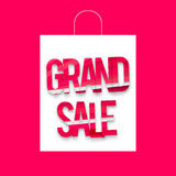 Grand sale package Royalty Free Stock Photography