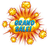 Grand sale Royalty Free Stock Image