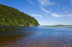 Grand Salmon River Photographie stock