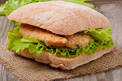 Grand sandwich Images stock