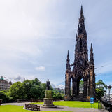 Grand Scott - à Edimbourg photos libres de droits