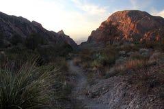 Grand sentier de randonnée de courbure images stock