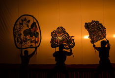 The Grand Shadow Play Royalty Free Stock Photos