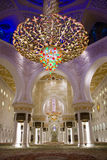 Grand Sheikh Zayed mosque Royalty Free Stock Photos