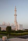 Grand Sheikh Zayed Mosque at sunset, Abu Dhabi, UAE Royalty Free Stock Photo